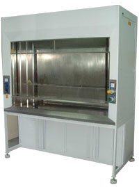 fume hood, CHEMICAL STORAGE CUPBOARD, Sink Benches, industrial lab